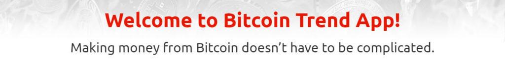 Welkom bitcoin trend app