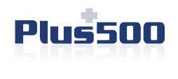 plus 500 logo blauw