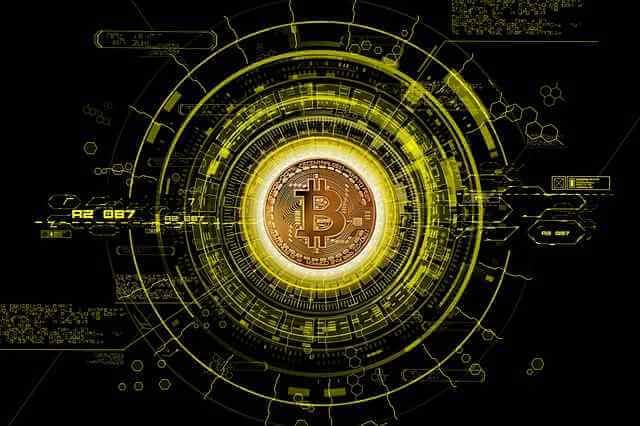 bitcoine baner groen