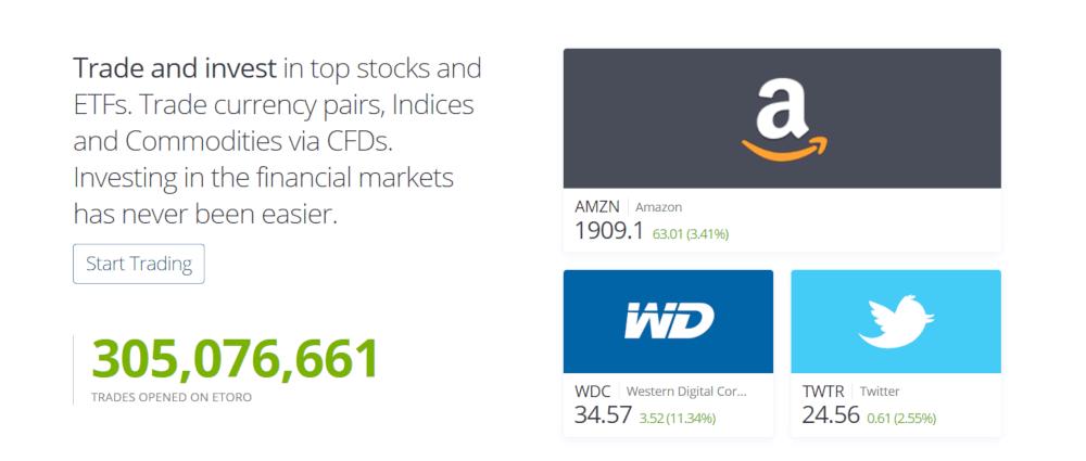 eToro Stock Trading
