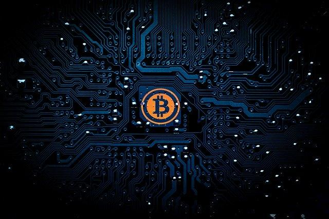 bitcoin munt kopen digital grafiek