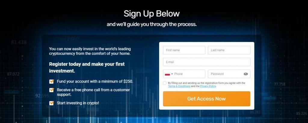 sign up profit horizon